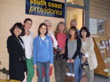 international journalists enjoy south coast food
